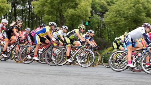2017年环崇明岛国际自盟女子公路世界巡回赛 暨PDM自行车系列赛-世巡赛段