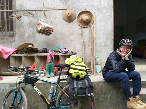 18天骑行2400公里!大三学生穿越七省回家_骑行圈_自行车网