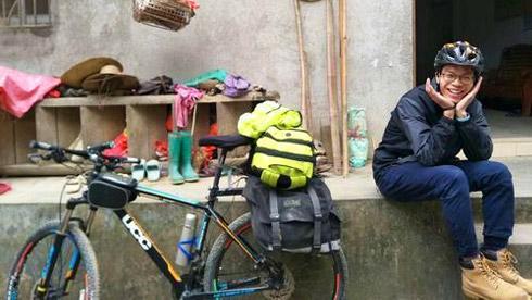 18天骑行2400公里!大三学生穿越七省回家