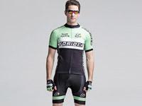 Forider夏季短袖骑行套装男款透气速干薄款自行车服